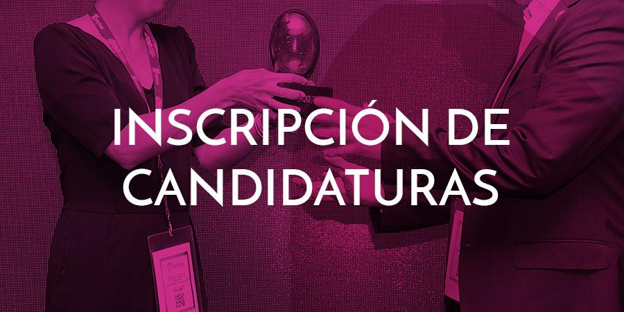 Inscripción de candidaturas Premios MKT