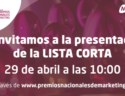 Descubre en directo a los finalistas de la XIII edición de los Premios Nacionales de Marketing