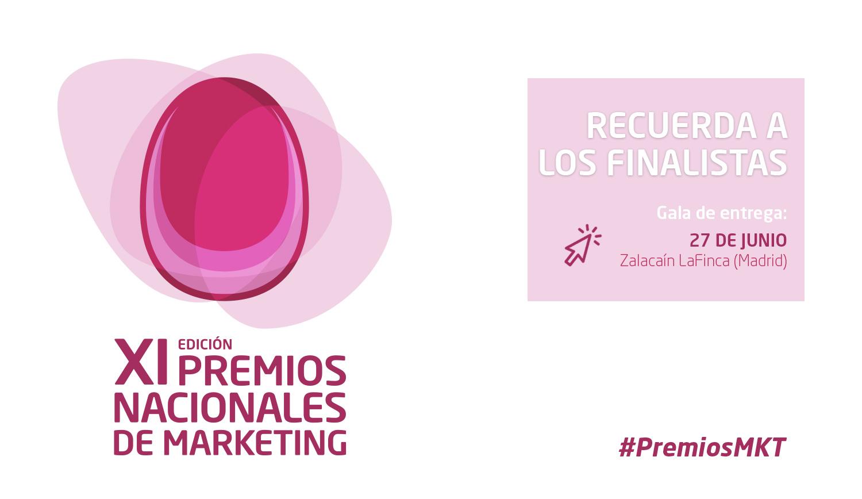XI Premios Nacionales de Marketing