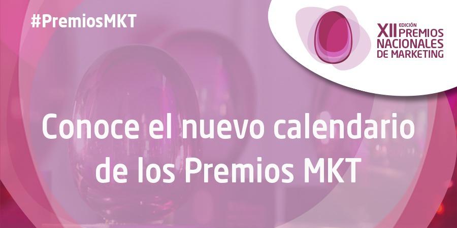 Se posponen las fechas de los grandes hitos de los Premios MKT 2020