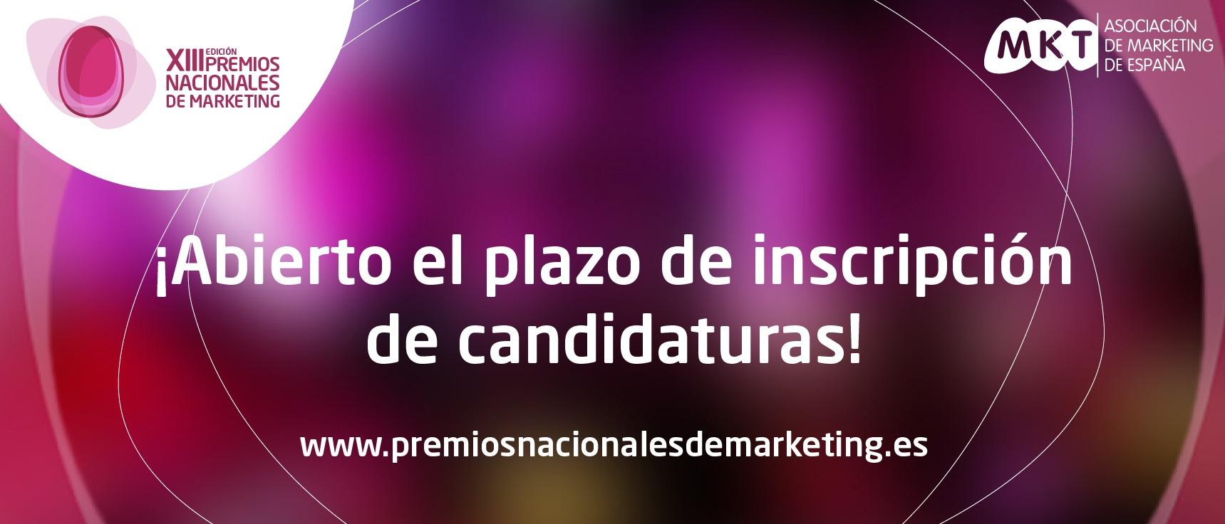 Candidaturas Premios MKT